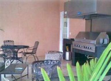 Legacy Villas condo clubhouse and grilling area in Gulfport, MS
