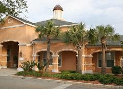 Legacy Villas vacation rental condo community clubhouse