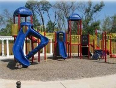 Legacy Villas children's playground in Gulfport, MS